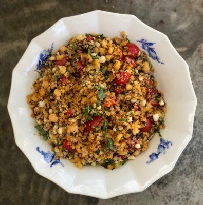 quinoa, tomato, corn salad ~ – Sous Salt